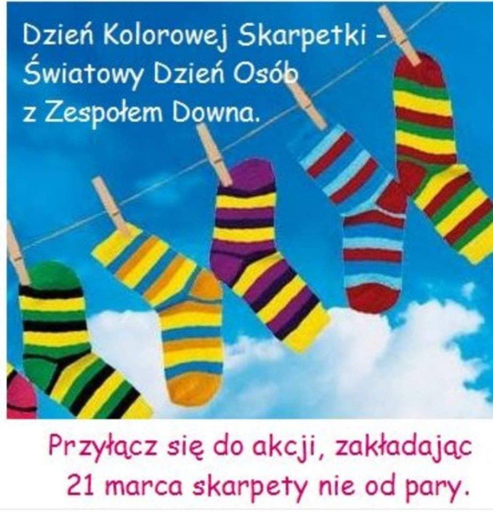Dzień Kolorowej Skarpety (Światowy Dzień Osób z Zespołem Downa)
